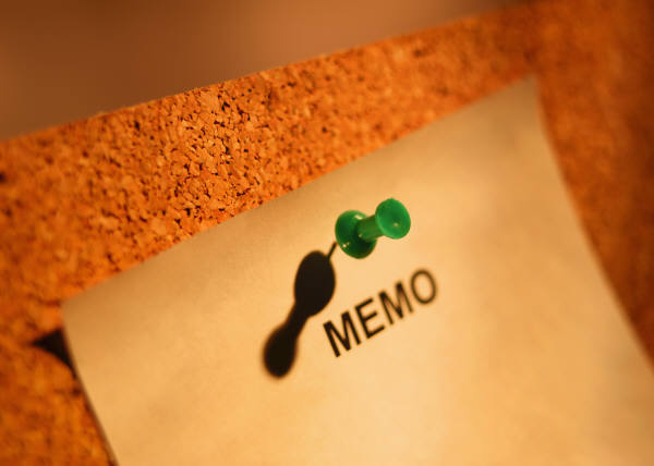 The Importance of Distributing a Pre-Event Memo