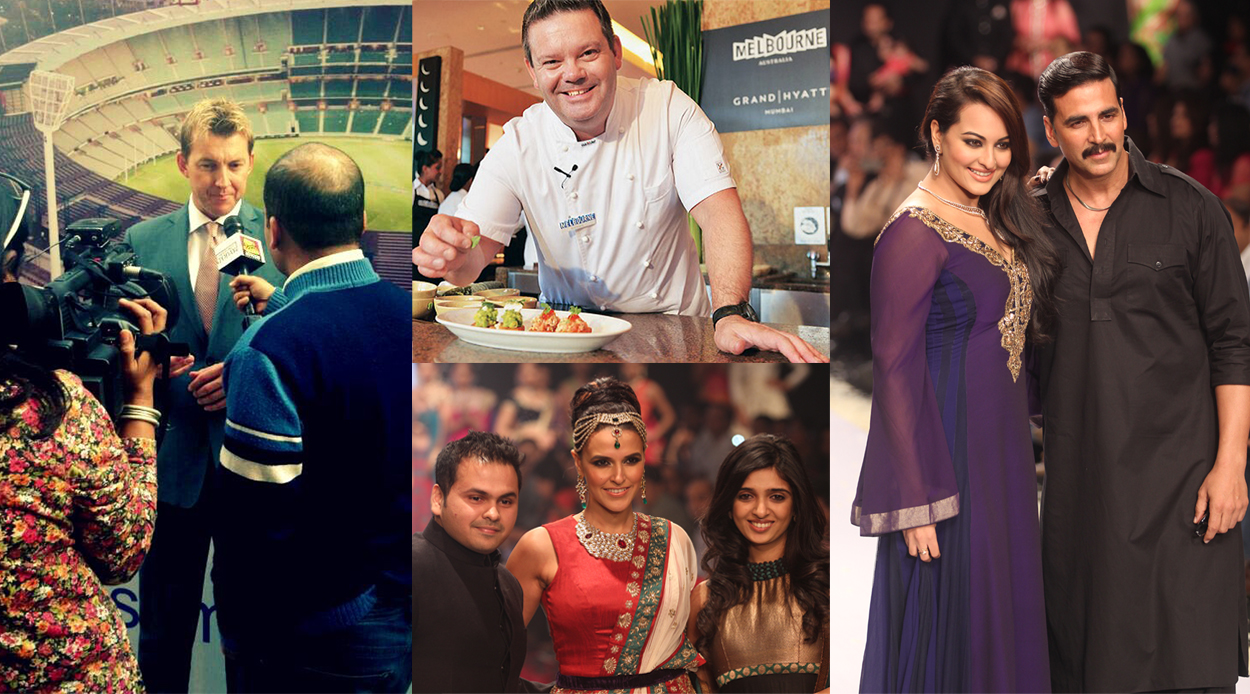 Celebrities at Corporate Events
