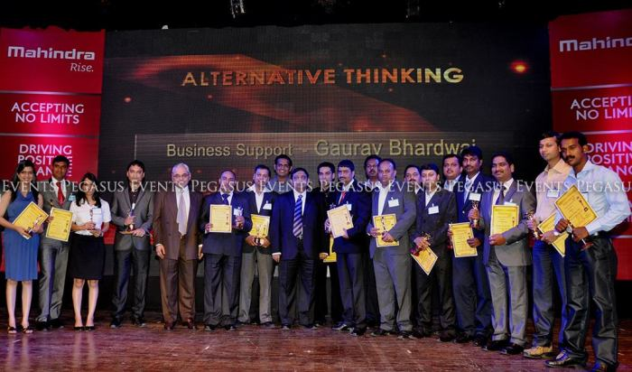 An internal award ceremony by Mahindra Rise to award the employees within their respective fields.