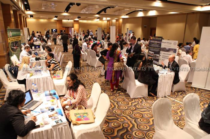 A four city roadshow for South Africa Tourism, organized by Pegasus Events Pvt Ltd